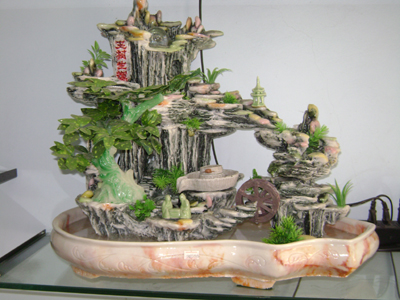 Feng Shui for miniature landscape